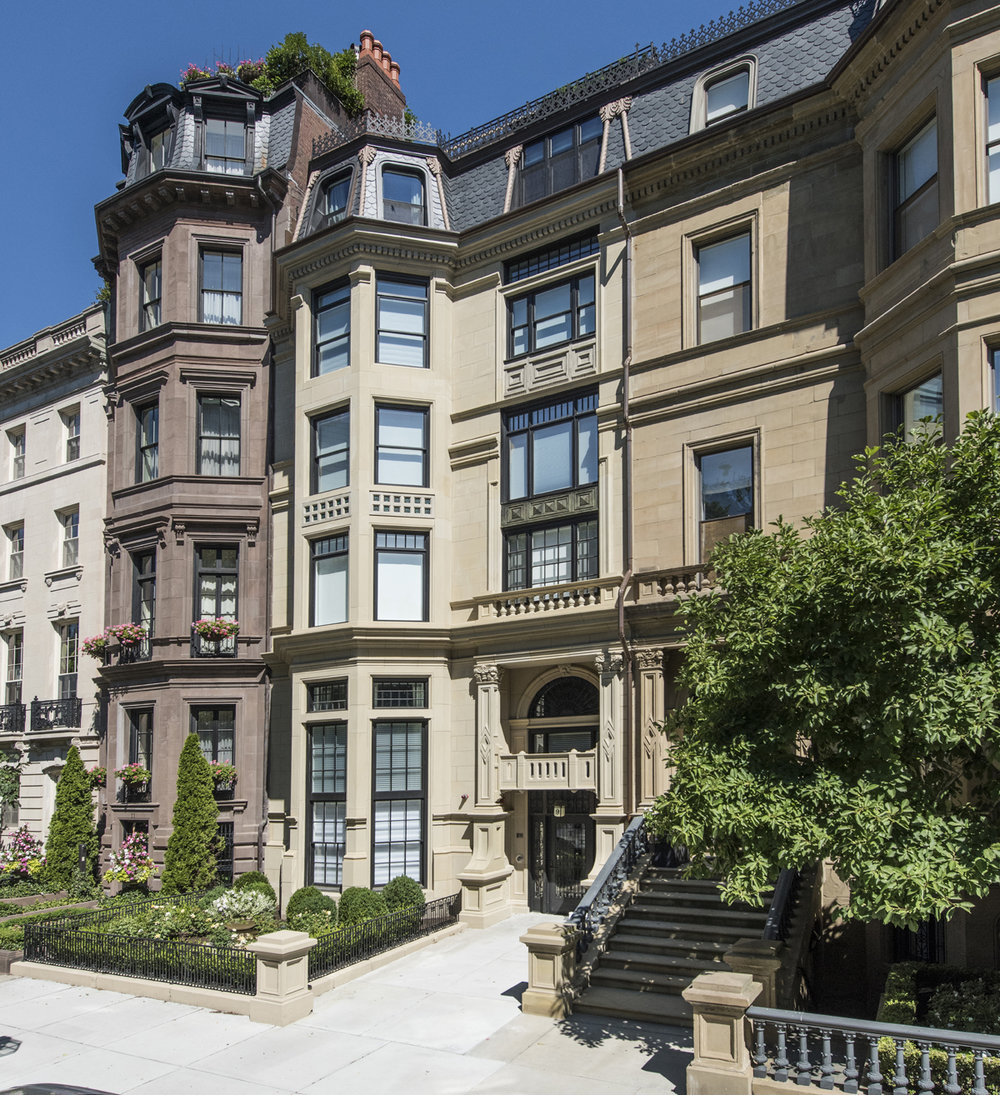 "Townhouse & Apartments - Meyer & Meyer, Inc. Architecture and Interiors ""9 Commonwealth Avenue, Boston"""
