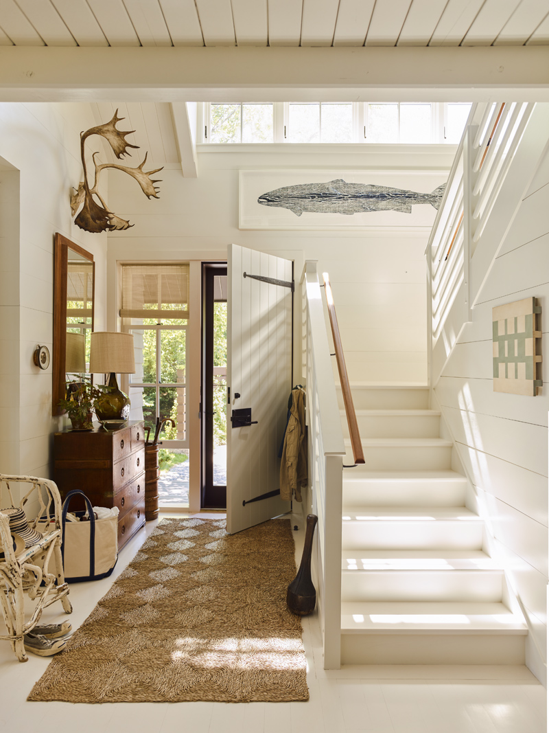 "G. P. Schafer Architect (Gil Schafer III) for ""Alterations to a House by the Sea"" - INTERIOR DESIGN  Photo: Eric Piaseki"