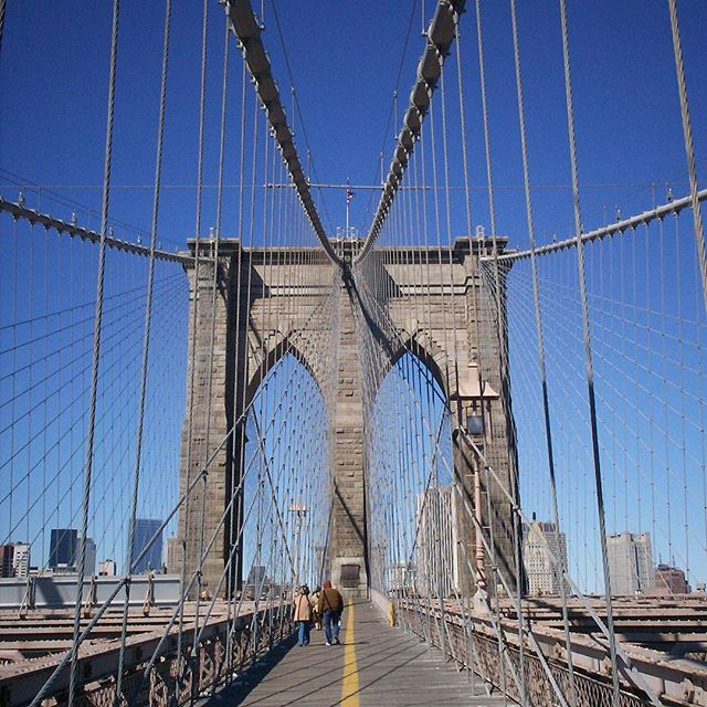 It's hard to get more iconic than a walk across the Brooklyn Bridge. One of the oldest in the U.S. construction on the first steel wire suspension bridge competed in 1883. Taking the subway to Brooklyn to explore for a few hours before hoofing it back across the bridge to the sights of south Manhattan is a great way to spend a day when visiting the Big Apple. Concerned this itinerary will disappoint? Fuhgeddaboudit. #wheretowednesday #letthetriptakeyou #travelworthy #wanderlust #vacation #travel #travelgram #nyc #brooklyn #brooklynbridge #newyorkcity