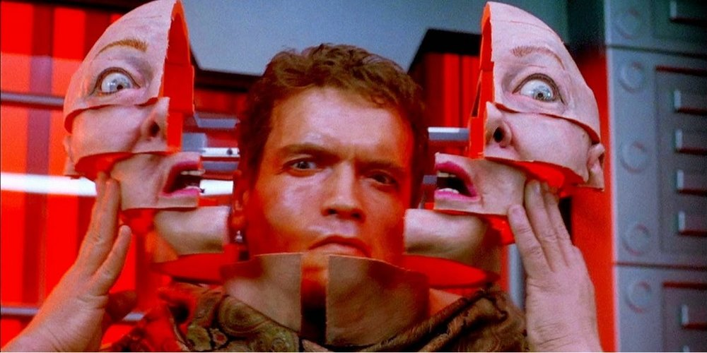 Ironically, Total Recall had bad special effects, which I didn't notice because the plot was so good.