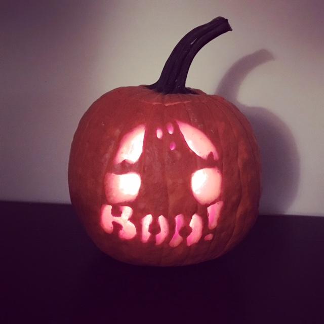 Pumpkin carving handiwork