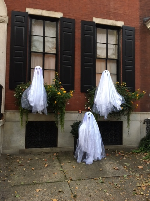 Ghostly greeters