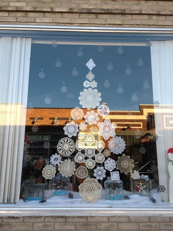 #6 Doily / Paper Snowflake Tree     Source