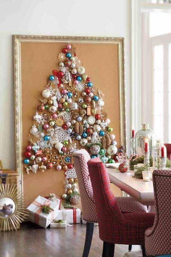 #7 Framed Ornament Tree     Source