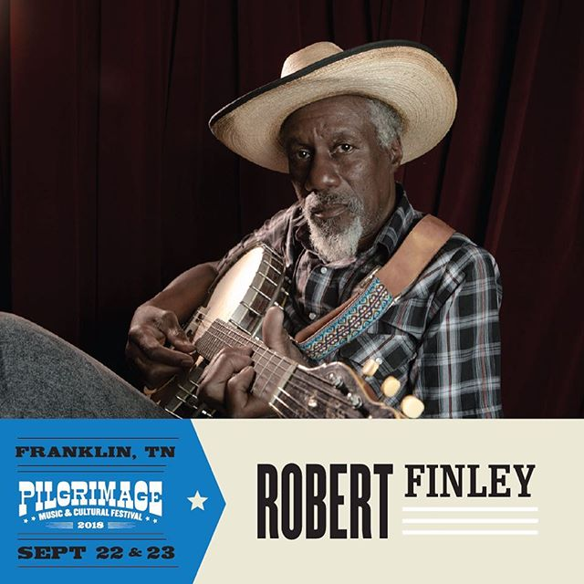 Robert Finley is ready to #MakeThePilgrimage this fall! Join him at @pilgrimagefestival September 22 + 23 in Franklin, TN. Get your passes now at pilgrimagefestival.com/tickets.
