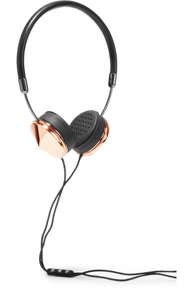 Rose Gold FRENDS headphones