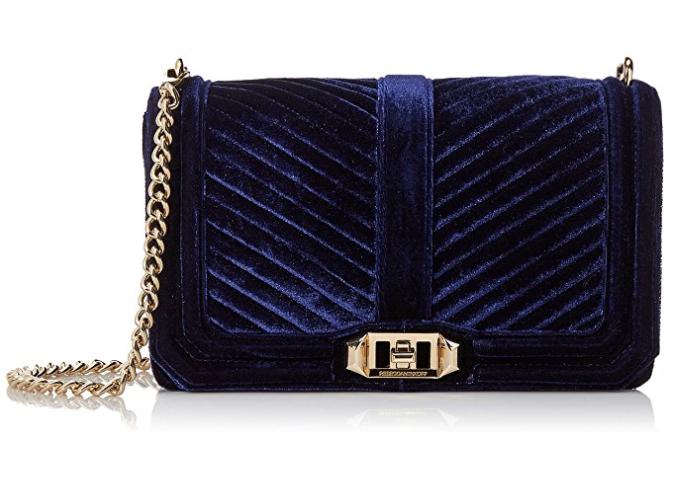 Blue Velvet Rebecca Minkoff Shoulder Bag
