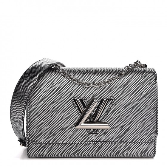 Louis Vuitton Epi Leather - Super structured, this leather holds its shape particularly well, especially in the Twist bag design as shownResistant to water, snow, scratches, and scuffsAbout as close to indestructible as you can get with leatherDeep grooved leather that has an almost 3-D effect to displaying color