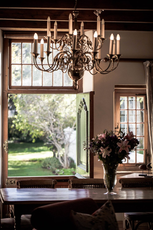 The Entrance Lounge: garden view