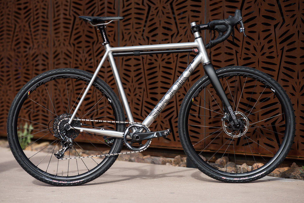 GAS MASK - framesets Start at $2499Includes Chris King Headset and Enve G Series Carbon ForkTire clearance700C X 42mm / 650b x 47mm
