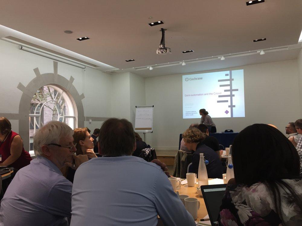 Cochrane presentation at ICASR
