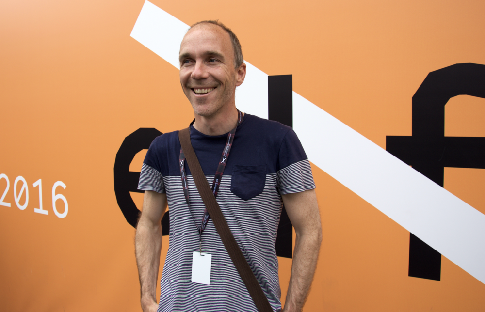 Short film Director, Chris Watson, celebrating first screenings | Edinburgh International Film Festival.
