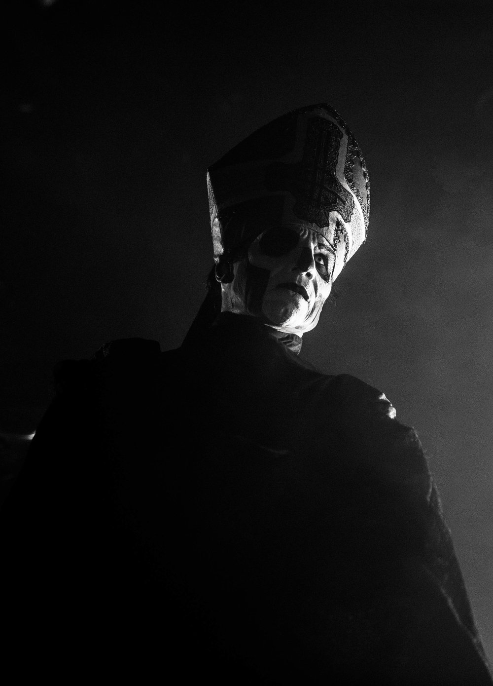 Papa Emeritus III of Ghost Popestar Tour 2017 @ Fillmore Auditorium in Denver © 2017 Kristin Kesterson (@kristinkestersonphoto)