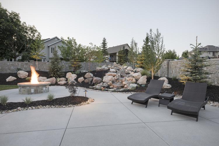 Home Landscapes kaysville, ut - luxury home landscapes — timberridge landscaping