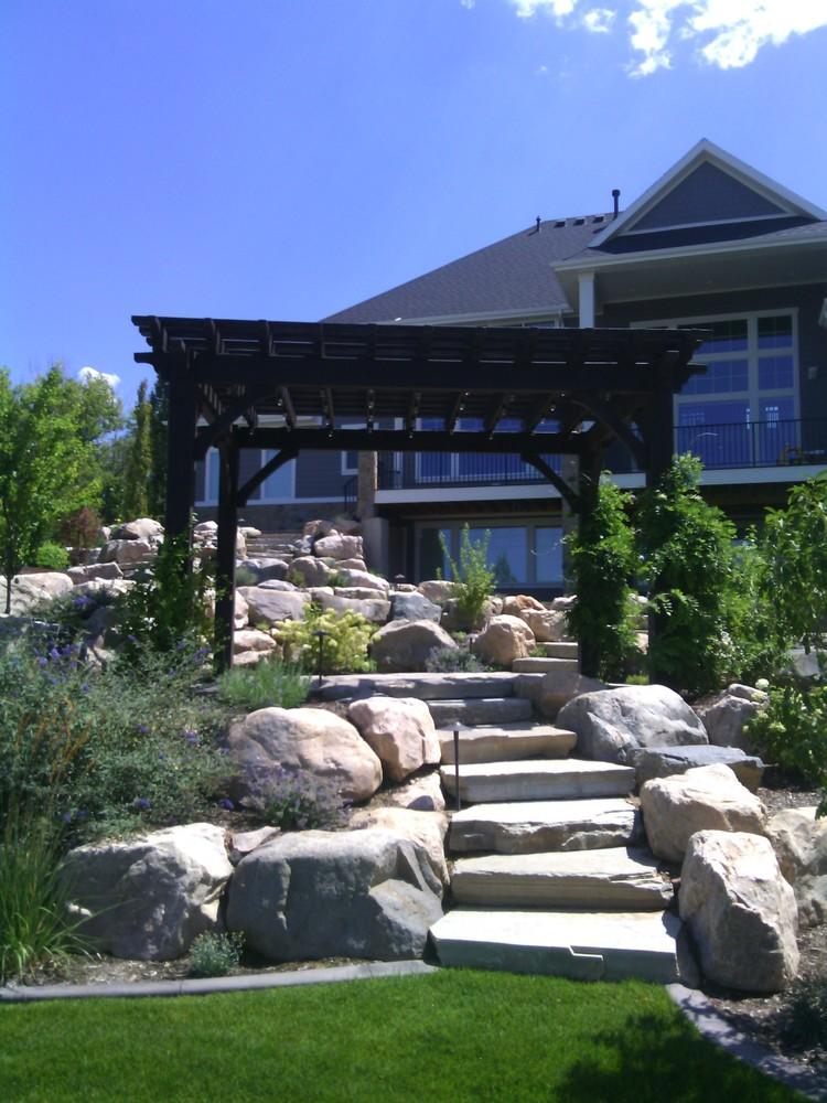 Home Landscapes bountiful landscape — timberridge landscaping utah - utah premier