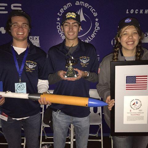 We got second place!!! #tarc2017