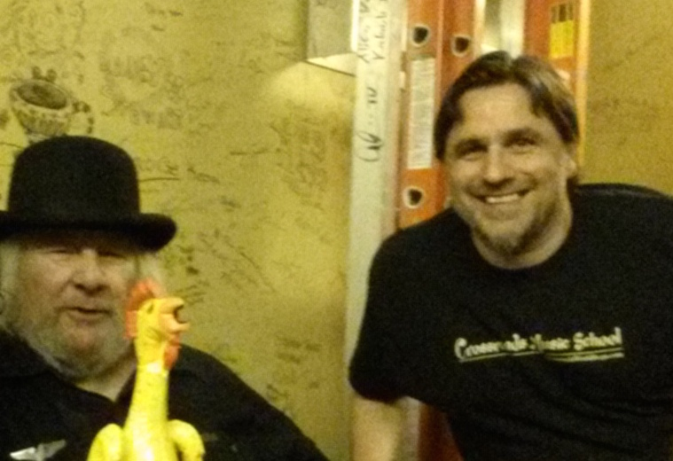Wavy Gravy (Backstage Freight and Salvage)