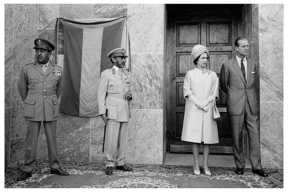 1965 ROYAL VISIT, Axum, Ethiopia.