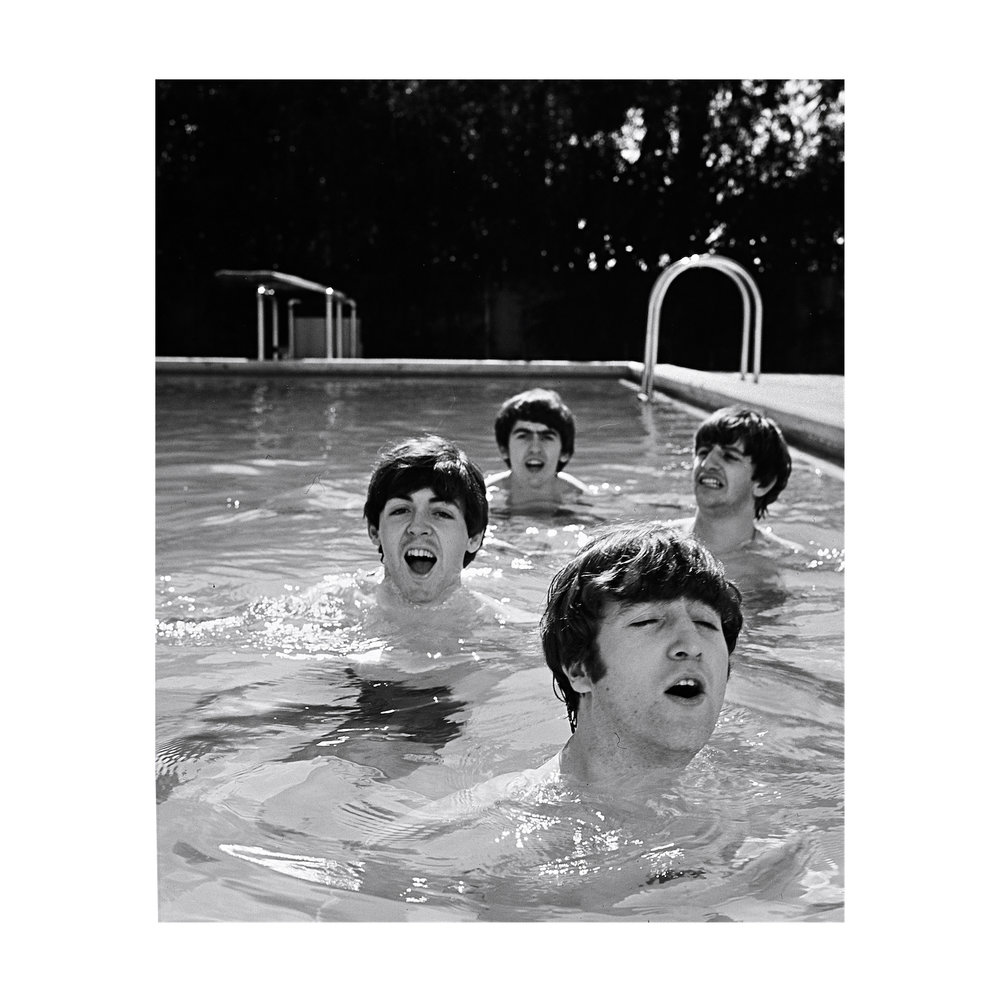 THE BEATLES 1964 Miami Beach, Florida.
