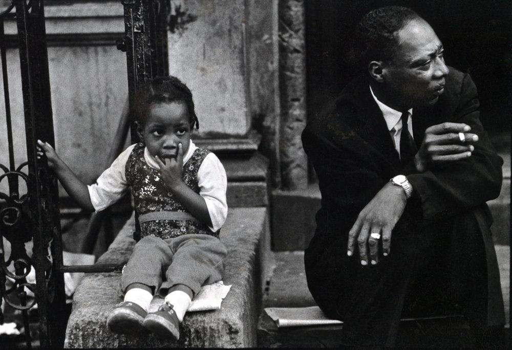 Harlem Series : 117th Street, NYC, 1960s ©Shawn W. Walker