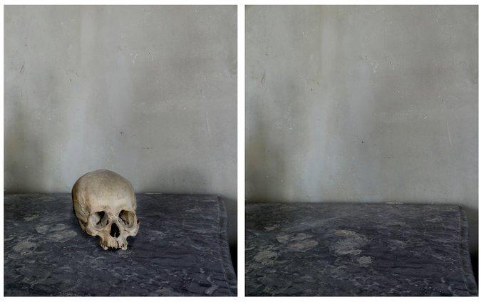 5. Cézanne's Studio (Skull and Void), 2013