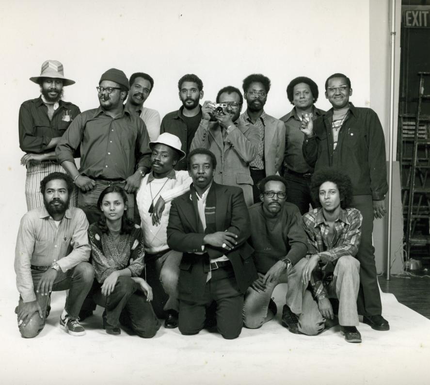 Kamoinge group photo, 1973 © Anthony Barboza