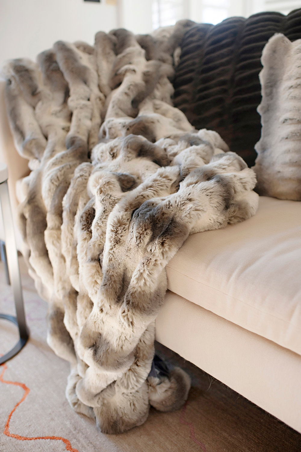 Couture Faux Fur Blanket