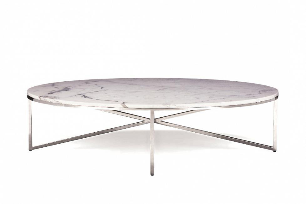 Domicile Cocktail Table With Marble Top