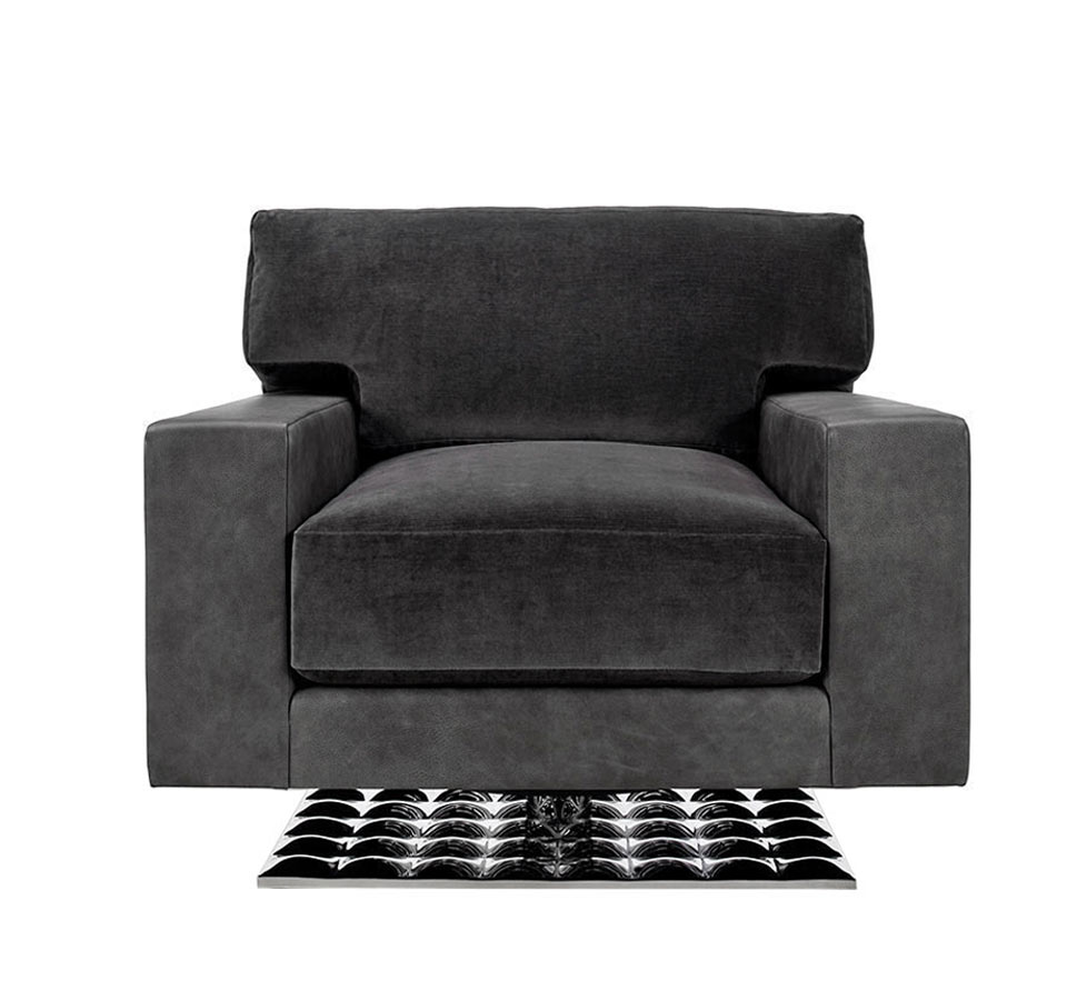 Tristan Swivel Club Chair