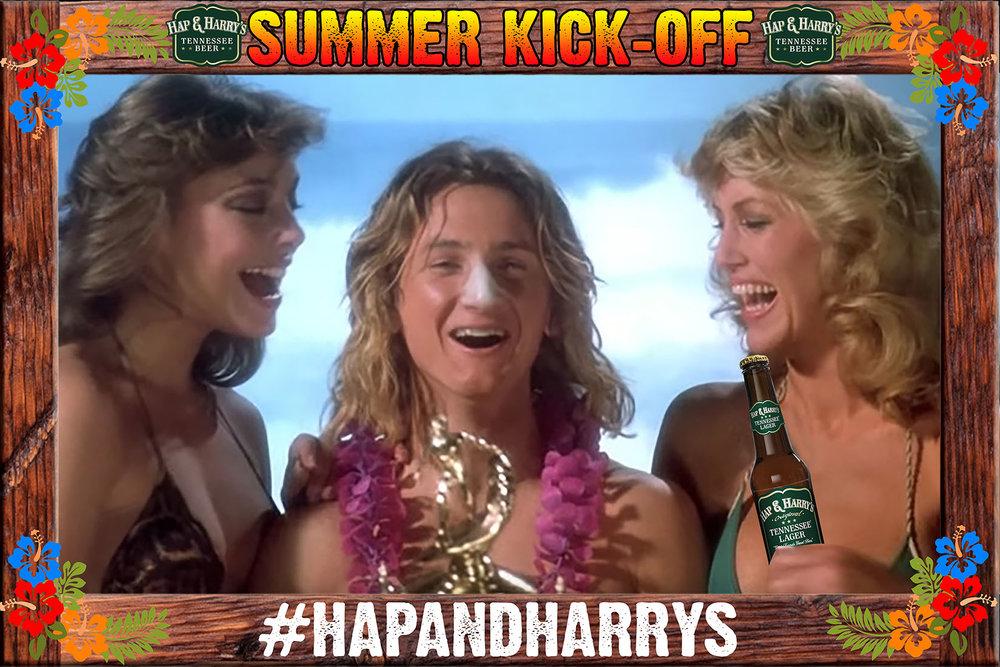 Summer Kick Off Hap & Harrys