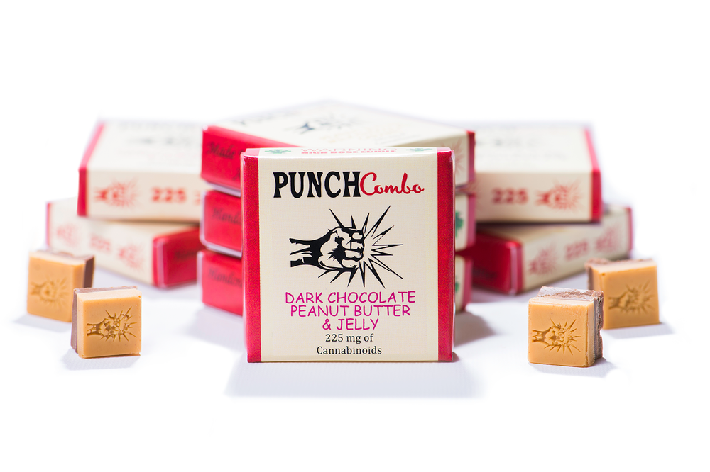 Dark Chocolate Bar by Punch Edibles