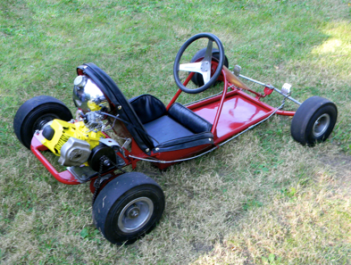 A rear engine design masterpiece created by Duffy in late 1960, the Go Kart 800.      Photo: F Weir