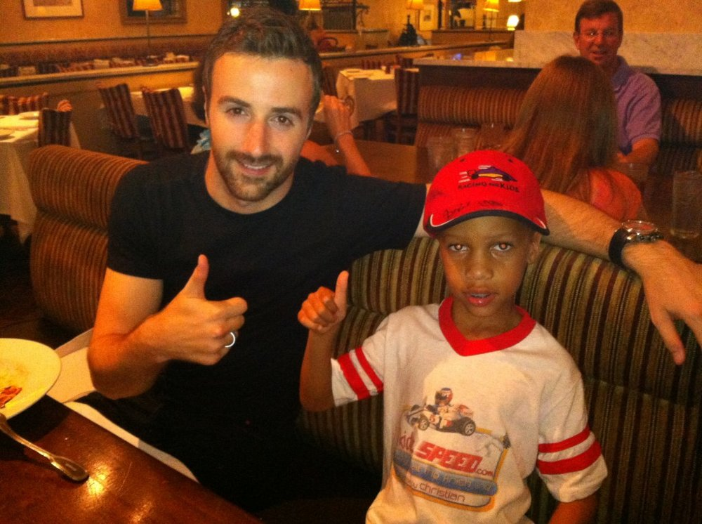 KidzSpeed Baltimore-Grand-Prix-James-Hinchcliffe-dinner-after-Indy-race.jpg