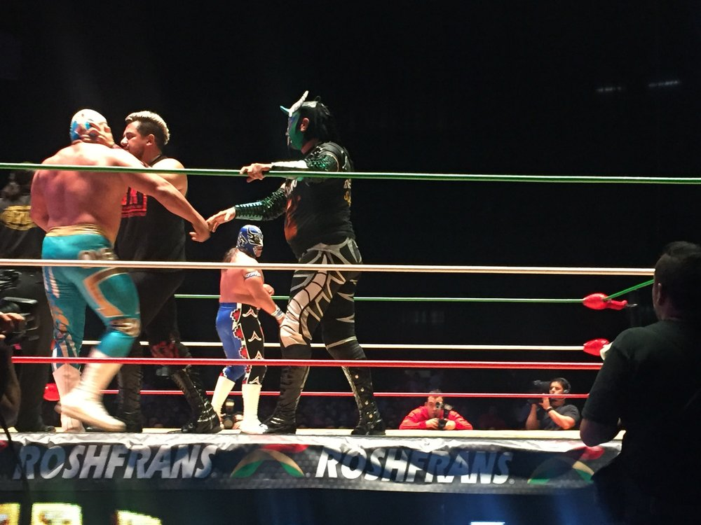 Lucha libre is a mexican passion, and for good reason - the showmanship is world-class!
