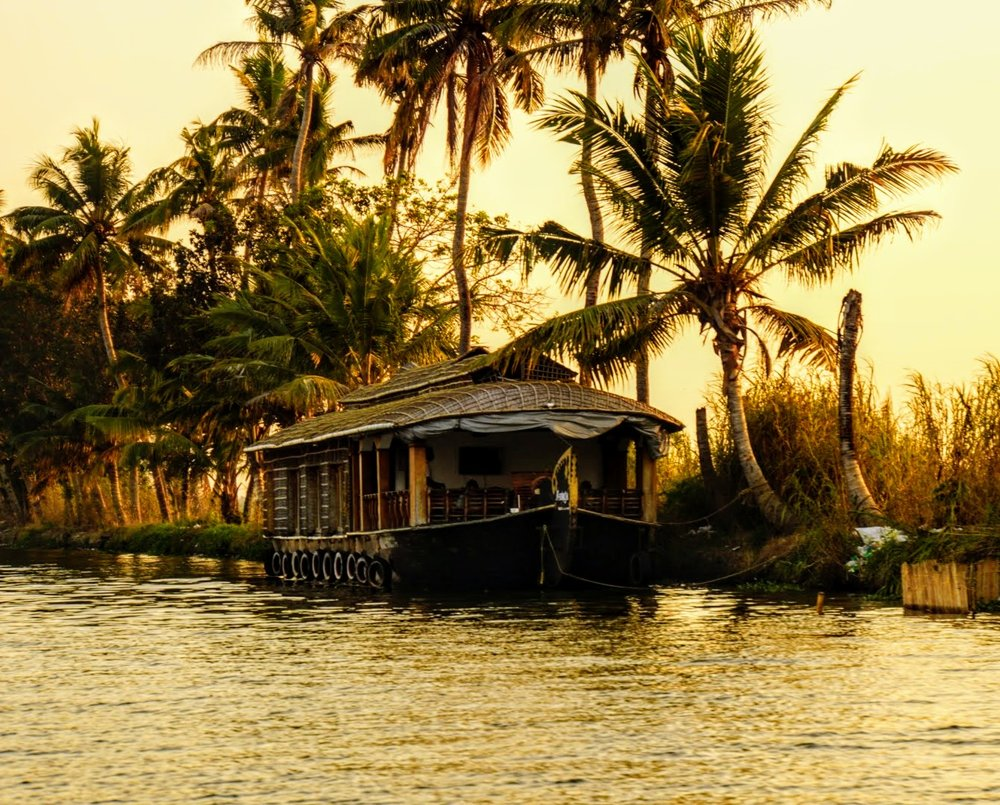 alleppey's backwaters are picturesque, but they can be pricey, too...