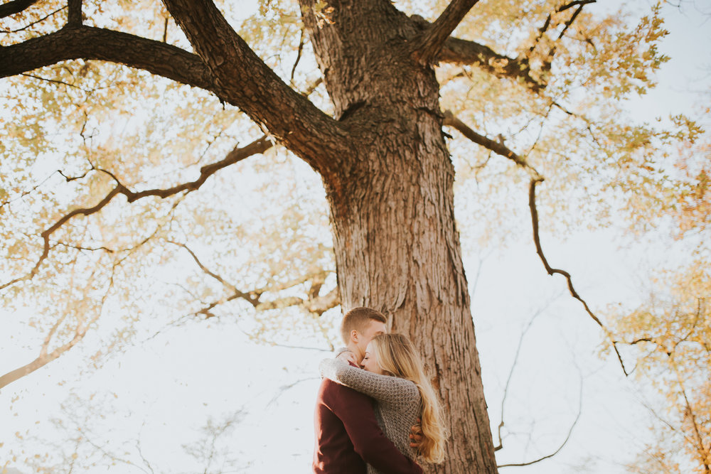 Jacob + Kaeli | Forest Park Engagement Session | El Paso Engagement Photographer