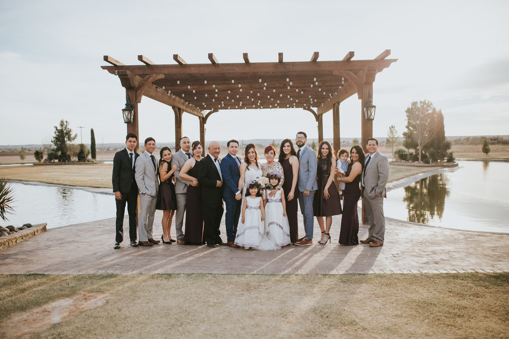 The Vega's | El Paso Wedding | El Paso Wedding Photographer | Sparrow & Gold Photography