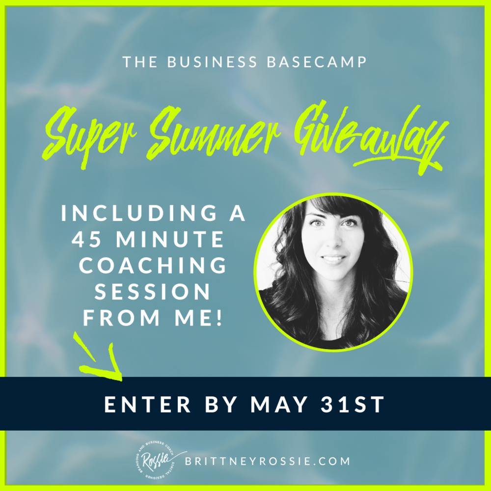 Summer Giveaway - BrittneyRossie.com