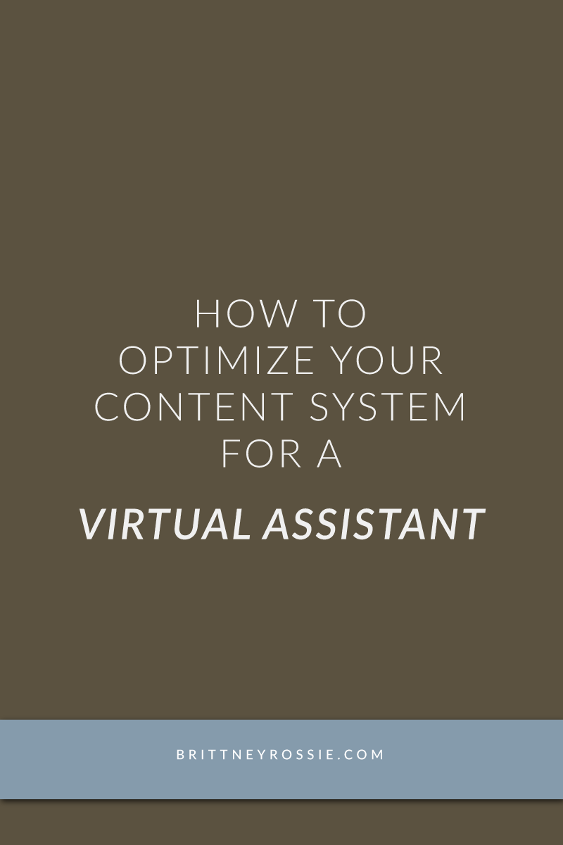 Optimize Your Content System