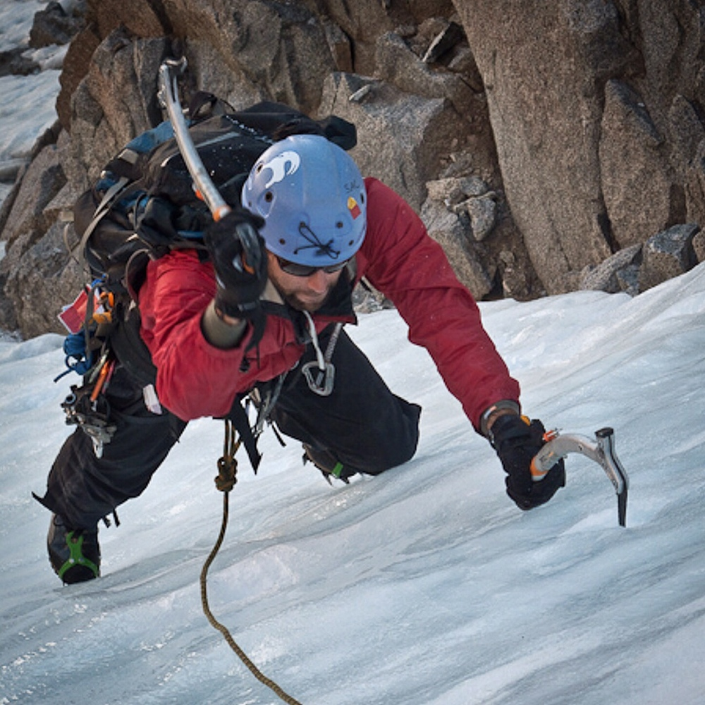 Ice Climbing the U-notch in the Eastern Sierra