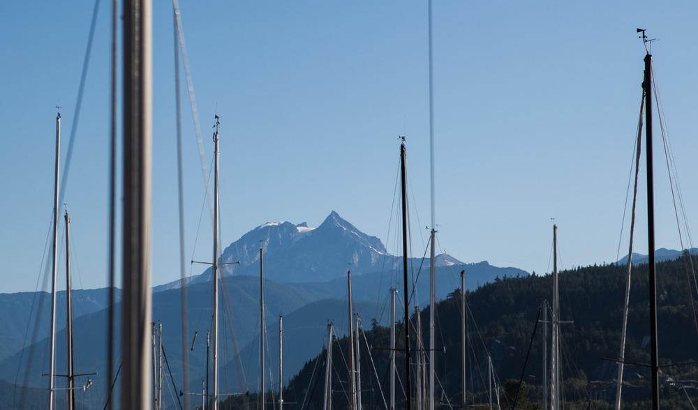 Squamish, British Columbia, where the mountains meet the sea
