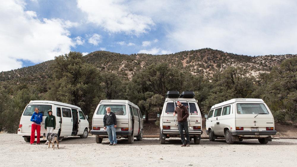 Volkswagen People in Death Valley