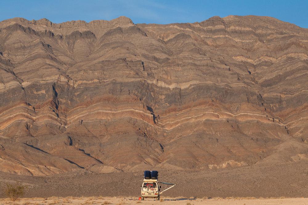 Volkswagen Vanagon in Death Valley