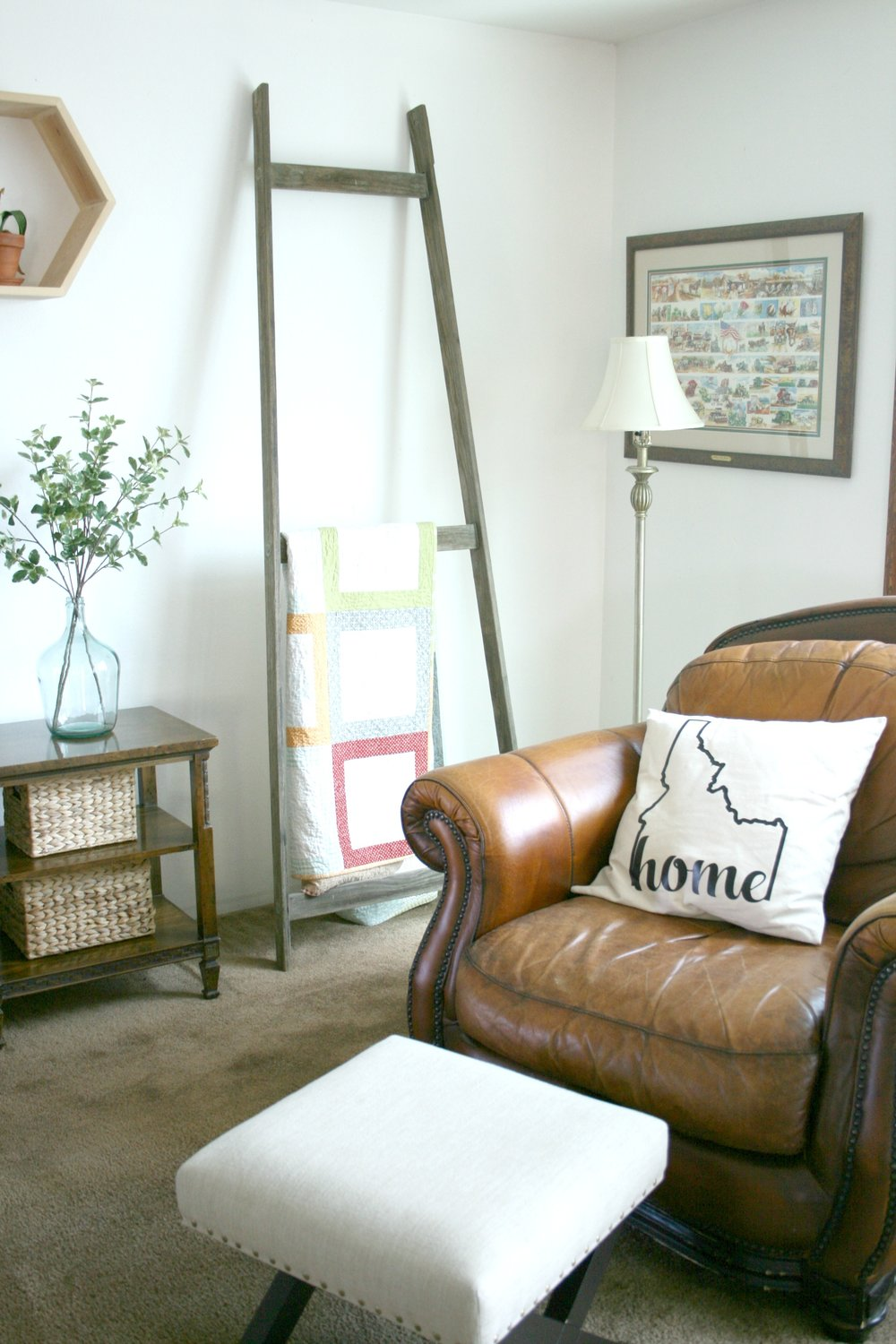 leather chair and blanket ladder.jpg