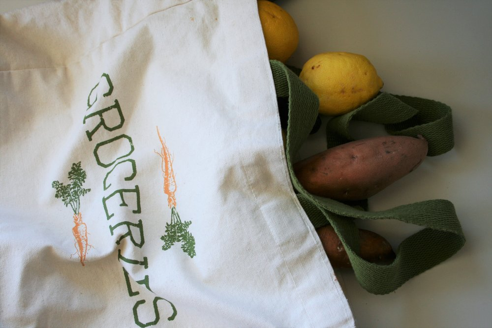 Reduce Kitchen Waste with Reusable Grocery Bags | The Little Homeplace