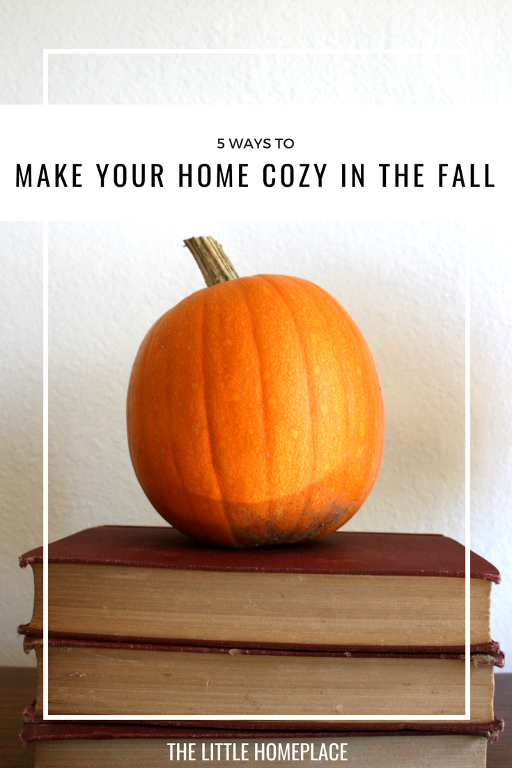 5 Ways to Make Your Home Cozy in The Fall | The Little Homeplace