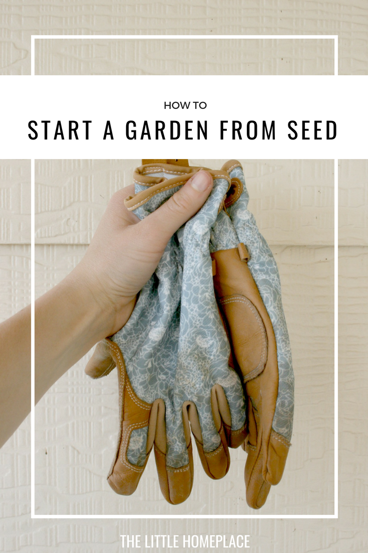 How to Start a Garden From Seed | The Little Homeplace
