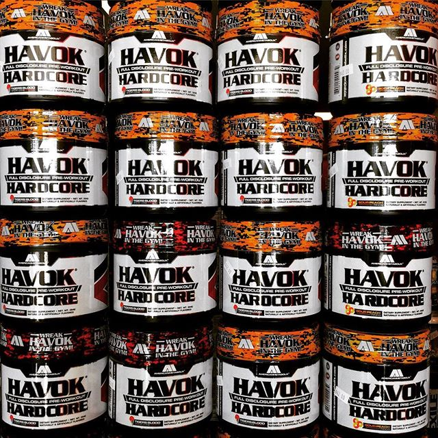 💥💥HAVOK HARDCORE!!💥💥 One of the best pre workouts around! Tired of crashing during or after your workout well here is the answer! Only 250mg caffeine with (DMHA) this pre workout also included  the most complete pump and blood flow inducing grouping of ingredients you will find on the market! Only store in Conroe and surrounding areas carrying this amazing pre workout! Our store is located at 1304 West Davis St. suite D Conroe, TX 77304. Don't forget about our website as well at www.fandhsupplements.com if you don't see an item listed or don't wanna order that way that's not a problem at all you can always call or text (936)443-7777 or email us at fandhsupplements@gmail.com #americanmetabolix #havok #havokhardcore #preworkout #supplements #fitness #motivation #lifting #youcandoit