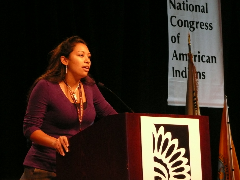 Kelsey Leonard at NCAI.JPG