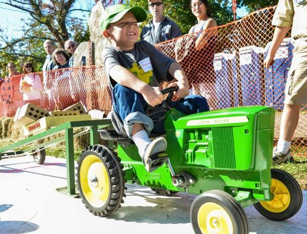 Tractor Pulls Aren't Easy!